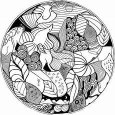 Malvorlagen Mandala Fische 86 Best Mandalas Images On Print