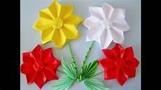 blumen aus papier selber falten origami