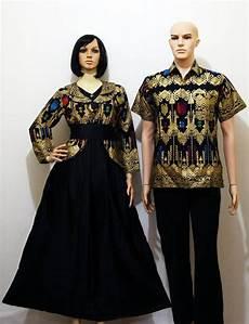 jual beli gamis couple batik p da hitam couple modern com