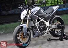 Modifikasi Motor Cb 150 by Modifikasi Honda Cb150r Garang Euy Motor Seo