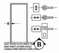 light switch height