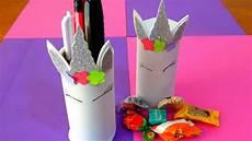dulcero y porta lapices de unicornio con tubos de papel higi 233 nico reciclaje youtube