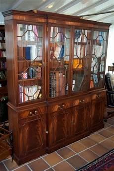 bibliothèque anglaise meuble bibliotheque style anglais