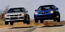 Subaru Or Evo by Mitsubishi Evo Ix Mr Vs Subaru Impreza Wrx Sti Which Is