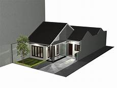 Gambar Rumah Minimalis Berbentuk L