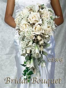 beautiful gold bouquet wedding bouquets bridal bridesmaid silk flowers ebay