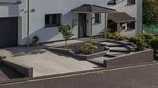 steine vor der haustür renovierung vorgarten rinn betonsteine und natursteine