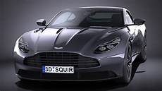aston martin db11 2017 3d model cgstudio