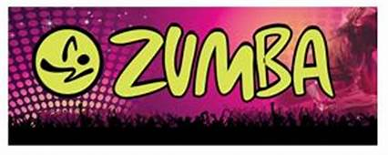Zumba Purple Large Banner Sign 3x8ft  $5900 Swooper