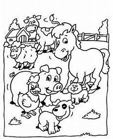 farm animals and their babies coloring pages 17434 baby farm animal coloring pages coloring and drawing farm animal coloring pages