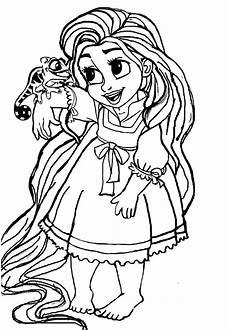 Ausmalbilder Rapunzel Malvorlagen Baby Rapunzel Ausmalbilder 1ausmalbilder