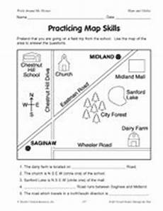 mapping skills worksheets grade 2 11562 practicing map skills map skills 2nd grade geography teaching social studies