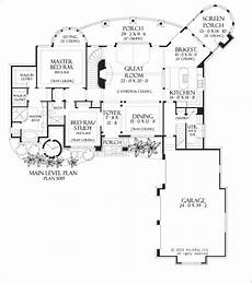 hollowcrest house plan the hollowcrest main floorplan floor plans house plans