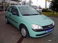 2002 Opel Corsa C 1 0 Car Photo And Specs