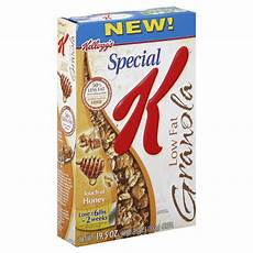 special k cereal low fat granola touch of honey 19 5 oz