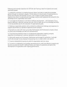 ojt application letter sle business administration