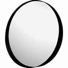 miroir rond metal miroir rond de salle de bains d80cm en m 233 tal 233 poxy kota