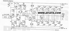 1000w Power Lifier Circuit Diagram