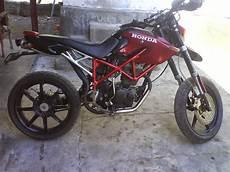 Modifikasi Motor Bebek Jadi Sepeda by Foto Modifikasi Motor Cross Supra Fit Impremedia Net