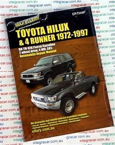 car repair manuals online pdf 1997 toyota 4runner parental controls toyota hi lux 4runner petrol repair manual 1972 1997 ellery new workshop car manuals repair
