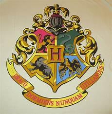 Harry Potter Wappen Malvorlagen Harry Potter Hogwarts Coat Of Arms 2xl T Shirt New