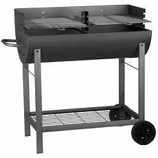 Barbecue Bbq Demi Tonneau 2 Grilles 44407