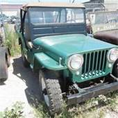 Ww2 Willys Mb Slat Grill Jeep  Classic 1941 For Sale