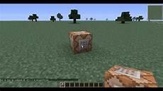 Minecraft Comment Avoir Le Bloc De Commande Tutoriel