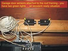 garage door opener sensor wiring garage door sensors overhead door opener sensor troubleshooting checkthishouse