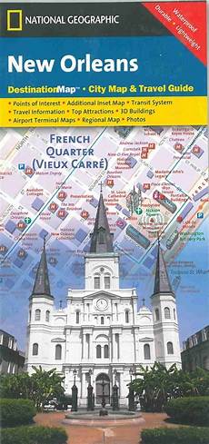 themapstore national geographic new orleans destination map