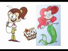 The Loud House Characters As Disney Part 1