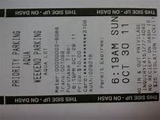 front parking receipt they can t even spell yelp