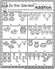 spring themed math worksheets for kindergarten kindergarten worksheets for may math kindergarten math