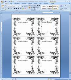 label template in word printable label templates