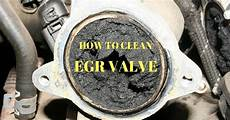 how to clean the egr valve and restore engine performance