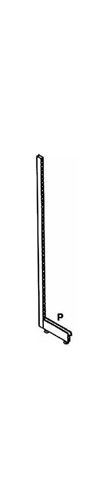 montanti per scaffali listino prezzi ripiani sezione murale piani