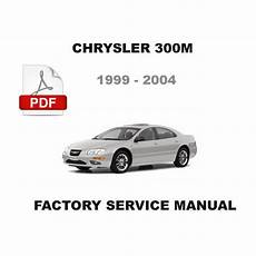 1999 2000 2001 2002 2003 2004 chrysler 300m factory service repair fsm manual chrysler