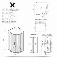 box doccia 80x80 cristallo box doccia 80x80 semicircolare stondato cristallo