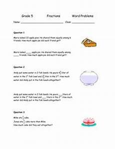 fractions word problems worksheets 4th grade 11454 grade 5 fractions word problems 4th 6th grade worksheet lesson planet