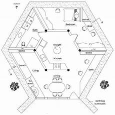 small hexagon house plans earthbag lodge hexagon house earth bag homes house plans