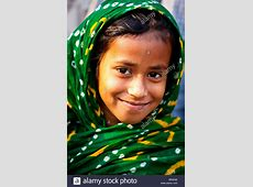Young Muslim girl in Dhaka, Bangladesh Stock Photo   Alamy