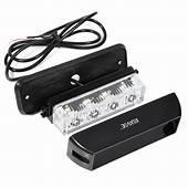 Rupse 4 LED Strobe Lights 12 24V Super Bright High Power