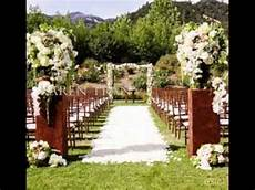diy garden wedding ideas youtube