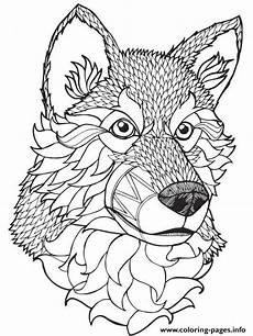 print high quality wolf mandala adult coloring pages cool coloring pages adult coloring pages