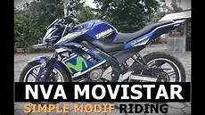 Modifikasi Vixion Movistar by Modif Simple Modif New Vixion Movistar