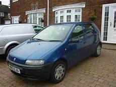 fiat punto 2001 fiat 2001 punto 1 2 blue car 1 day auction