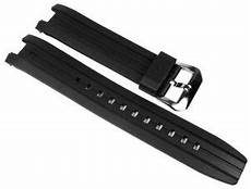 Black Replacement Band Edifice by Casio Edifice Replacement Band Resin Band