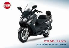 Sym Gts 125 Evo Test Drive Cais Motor