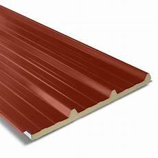 panneau sandwich toiture prix panneau sandwich pour couverture isol 233 e 1000x2200 mm axel