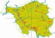 Deutschlandkarte Saarland Karte Regionen Bild